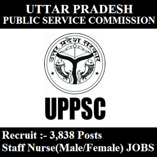 Uttar Pradesh Public Service Commission, UPPSC, UP, Uttar Pradesh, Staff Nurse, PSC, 12th, freejobalert, Sarkari Naukri, Latest Jobs, Hot Jobs, uppsc logo
