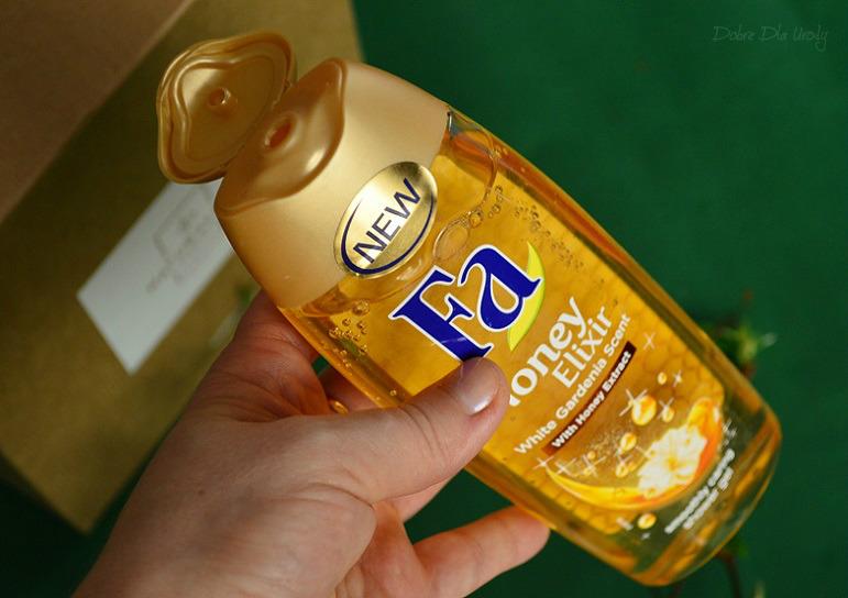Fa Honey Elixir Żel pod prysznic Biała Gardenia i Ekstrakt z Miodu
