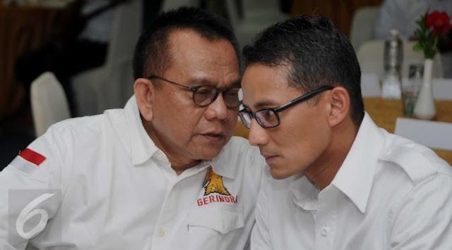 Gerindra Masih Tunggu Wangsit untuk Tentukan Pendamping Sandiaga di Pilgub DKI