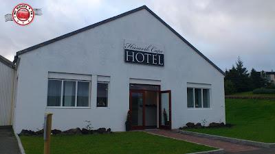 Fachada del Húsavík Cape Hotel