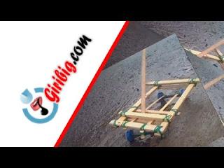 Kerajinan Membuat Mobil Mainan Bambu Paling Canggih