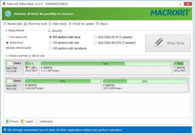 Macrorit Data Wiper Full 3.2.0 Download