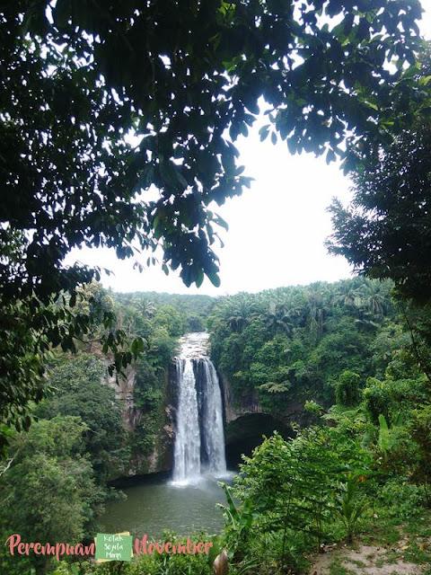 objek wisata air terjun