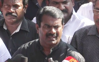 Jallikattu: Police Attack – Seeman Pressmeet during Protest 01-02-2017