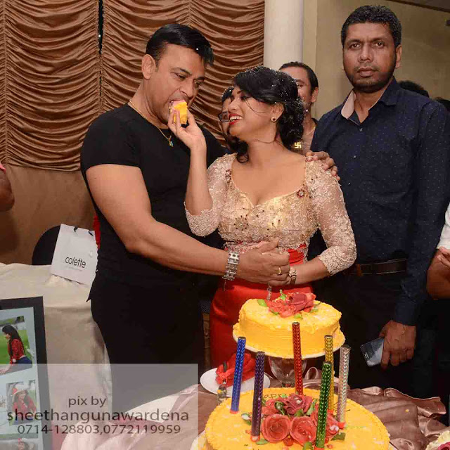 Actress Kaveesha ayeshani Birthday Celebration