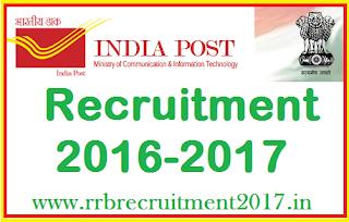 AP Postal Circle Recruitment 2016
