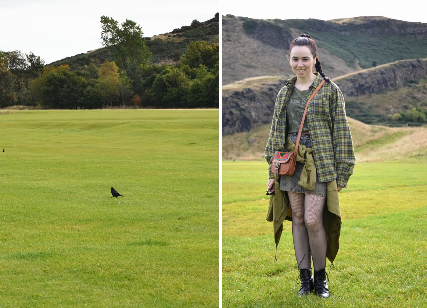 Roxana Xoanyu in Holyrood park (Edinburgh / Scotland) by XOANYU.