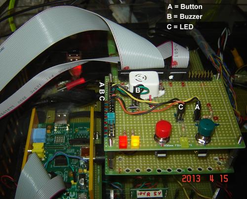 FongEye: RAspberry Pi Model A ribbon cable and basic GPIO