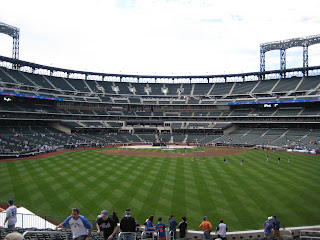 Center to home at Not Shea Stadium