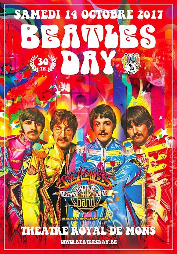 Édition anniversaire pour le 30e Beatles Day à Mons