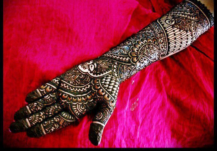 Latest Bridal Mehndi Designs 2012
