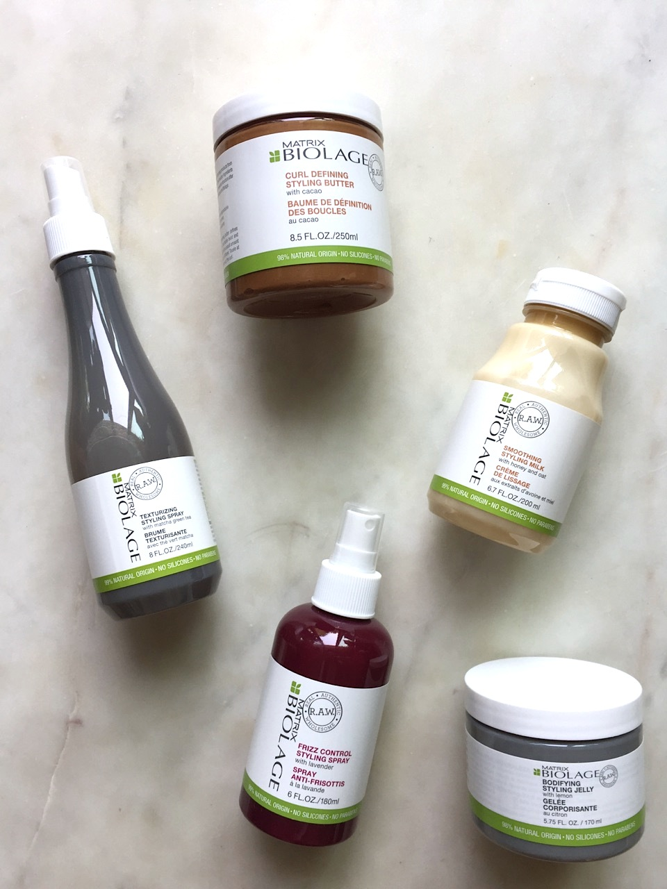 Matrix Biolage RAW Styling The Naked Touch Collection: A quick review
