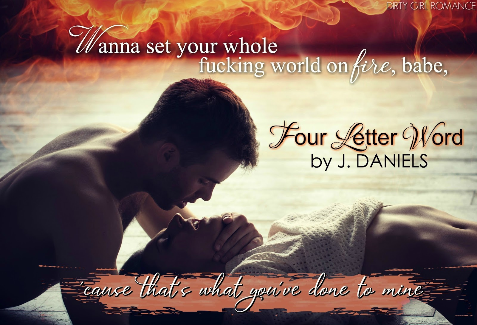 Reads All The Books Four Letter Word by J Daniels Cover Reveal – Words of Romance for Romantic Love Letters