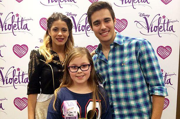Disney Channel'ın Violetta oyuncuları ile röportaj!