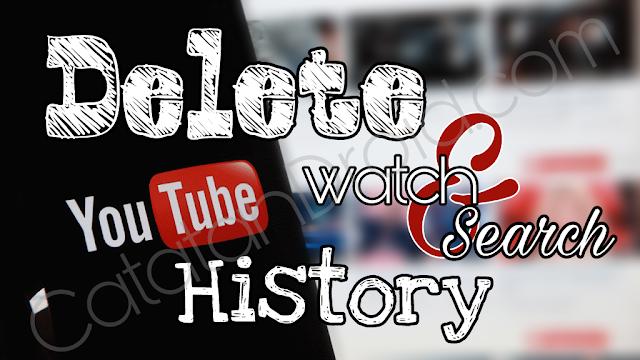 Cara Mudah Membersihkan Riwayat History Penelusuran Video Youtube di Android