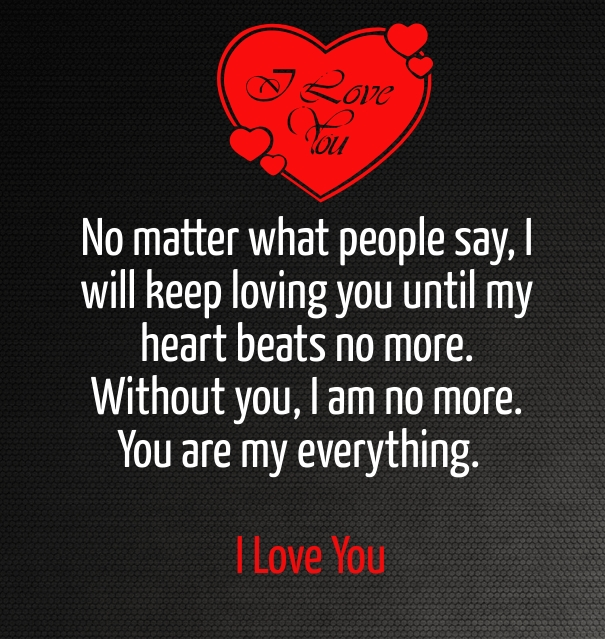 Love You Quotes For Him Cute & Sweet I Love You Quotes For Him From The Heart  Romantic .