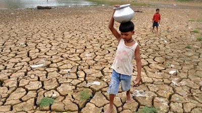 La escasez hídrica