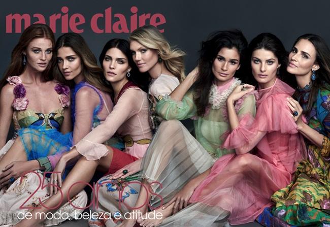 Gucci 2016 SS Pink Embroidered Chiffon Dress Editorials