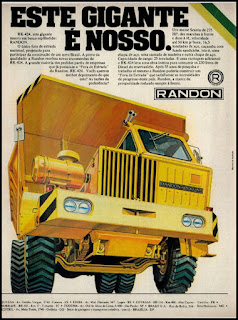 propaganda carrocerias Randon – 1976, fora da estrada Randon - 1976, Randon S. A. Veículos e Implementos, Carrocerias Randon anos 70, Randon década de 70, Oswaldo Hernandez, caminhão anos 70, motor Scania anos 70,