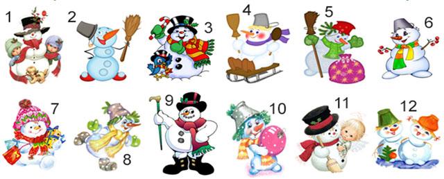 Выбранный снеговик расскажет какую удачу подарит Новый 2020 год