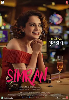 Simran 2017 Hindi 720p WEB-DL 900Mb x264