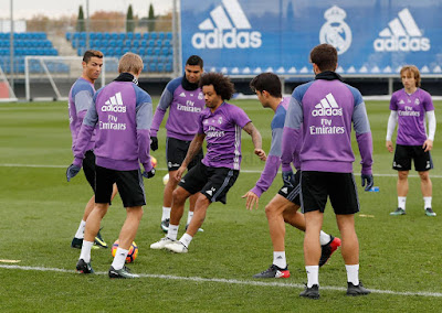 Real Madrid e Barcelona jogo em 03-012-2016