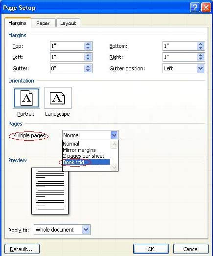 2 MS Word 2007 এ কিভাবে Booklet Print করতে হয়? | Techtunes MS Word 2007 এ কিভাবে Booklet Print করতে হয়?