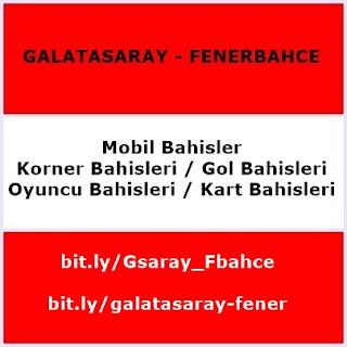 Galatasaray-Fenerbahçe CANLI izle