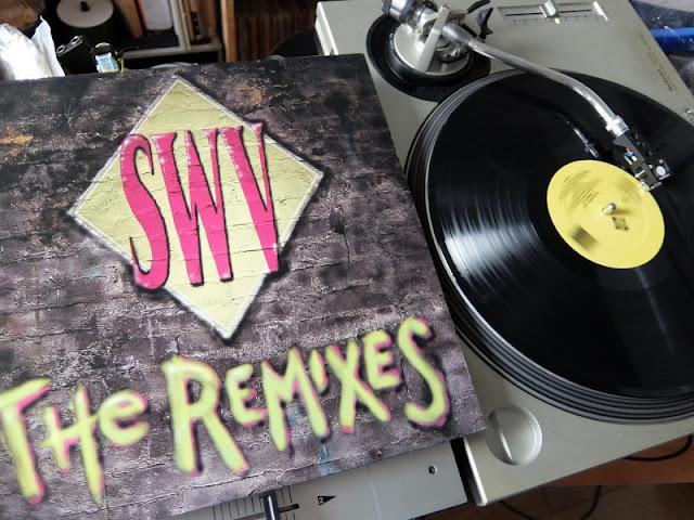 SWVのEP「The Remixes」のレコードの写真です。