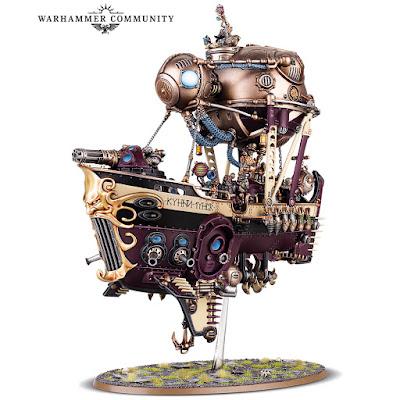 warhammer age of sigmar kharadron arkanaut ironclad