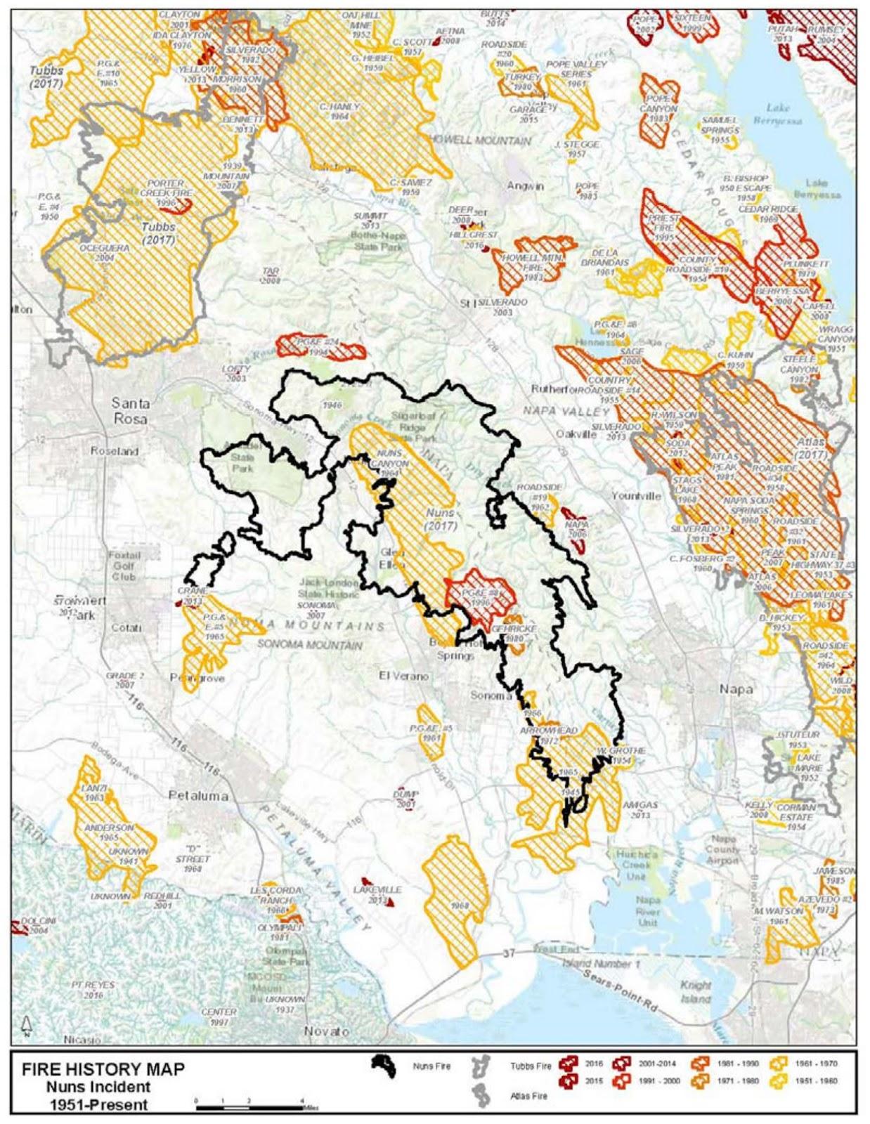 The Forgotten Great Fire Of 1870 Santa Rosa History