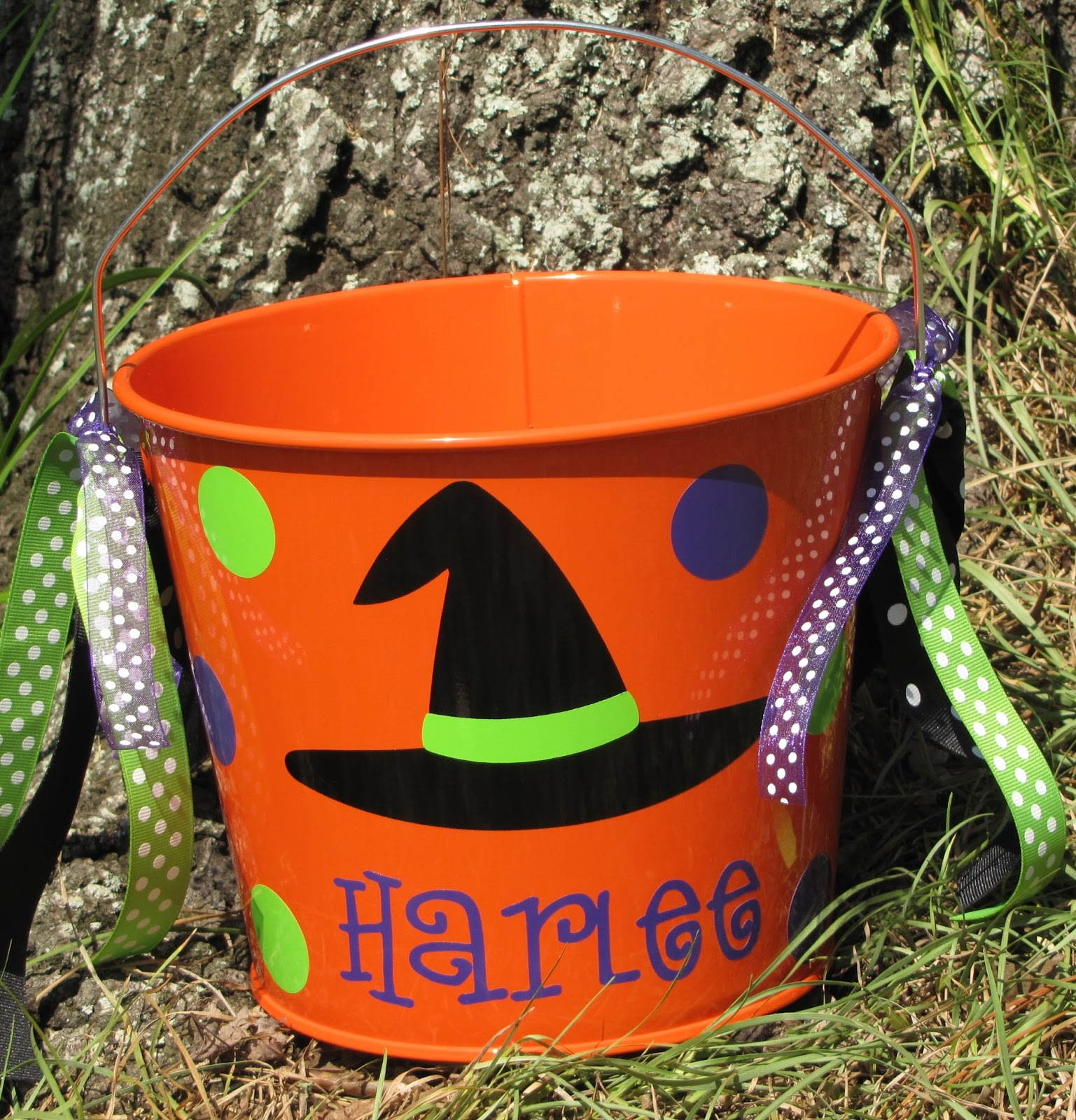 Dear Doodlez Designs Personalized Halloween Buckets 2013