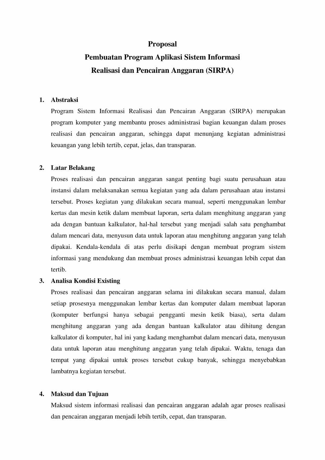 Contoh Proposal Proyek : contoh, proposal, proyek, IRAZ:, Contoh, Proposal, Proyek