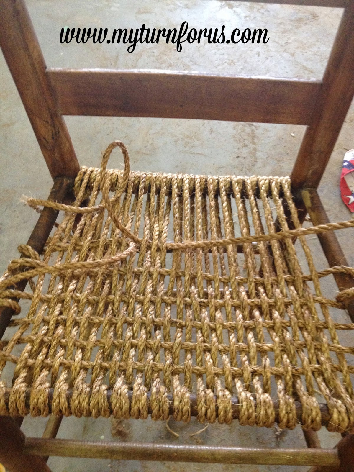 String Chair Seat Wedding Cover Hire Bradford Rope Or Hemp Bottomed