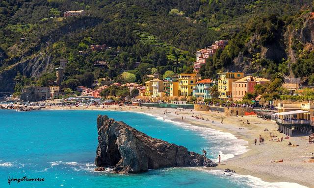 Monterosso, Cinque Terre, Ligurie, Italie, alla mare, sea, mer, méditérannée, Ligurie, Italie