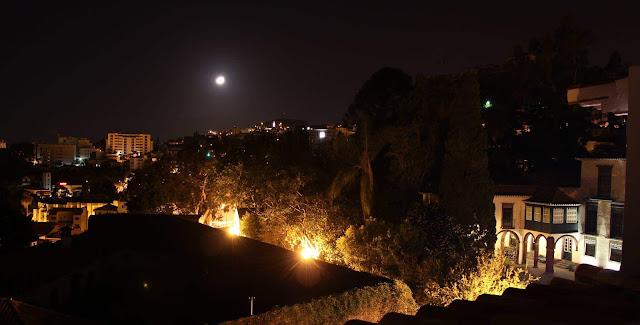 Cruzes at night