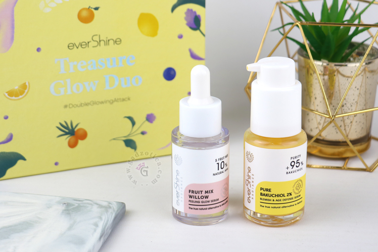 Review Evershine Treasure Glow Duo Whitening Anti-aging Kit