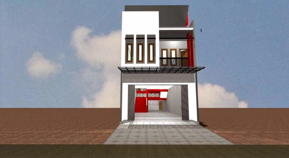 Desain Ruko Mr Yanto Dolopo Madiun Desain Rumah Murah
