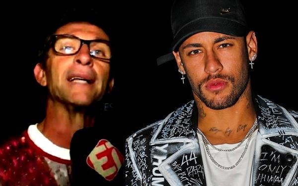 Neto dispara críticas contra Neymar (Imagem: Reprodução/Internet/Montagem)