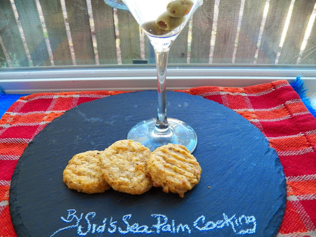 Savoury 3 Cheese Cookies