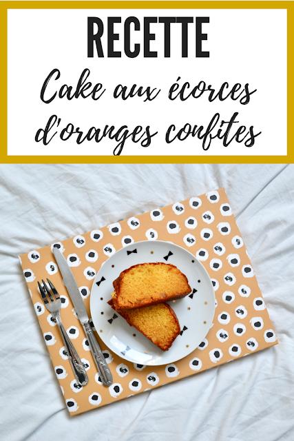 Catchmeifyoucanboy Recette cake écorces oranges confites