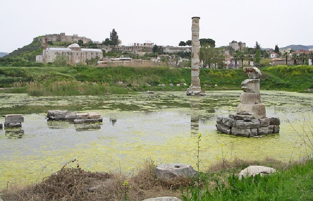 Temple of Artemis at Ephesus turns into swamp due to neglect