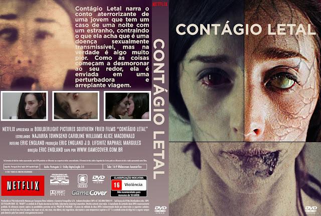 Capa DVD Contágio Letal [Exclusiva]