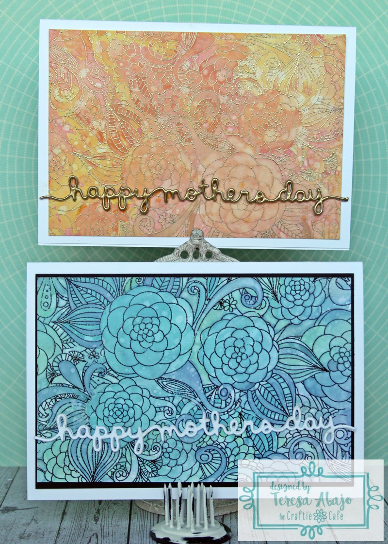 the tamarisk: mother's day cards for craftie cafe