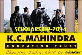K.C. Mahindra all India Talent Scholarships 2015 for studying Diploma course. 1