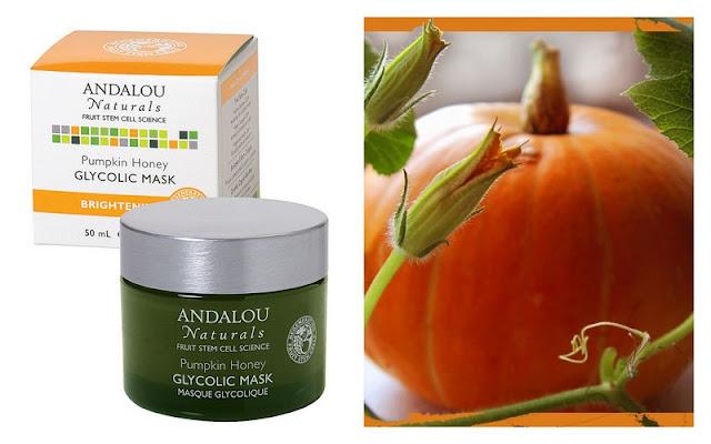 Andalou Naturals, Glycolic Mask, Pumpkin Honey, Brightening