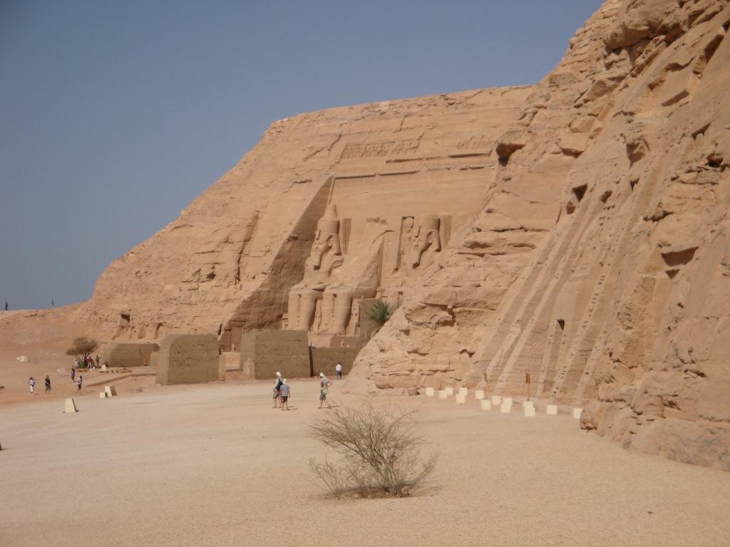 Templo de Abu Simbel no Egito