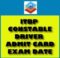 ITBP Constable (Driver Male) Call Letter OUT