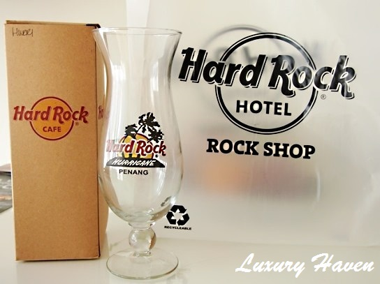 hard rock cafe penang cocktail glasses