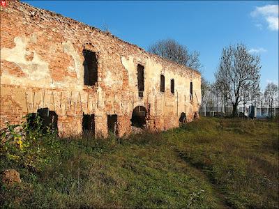 Стена замка в Гольшанах